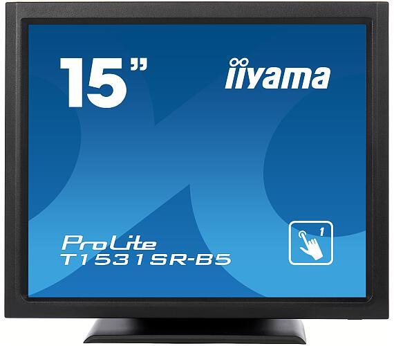 iiyama T1531SR-B5 - TN,1024x768,8ms,370cd/m2 + DOPRAVA ZDARMA