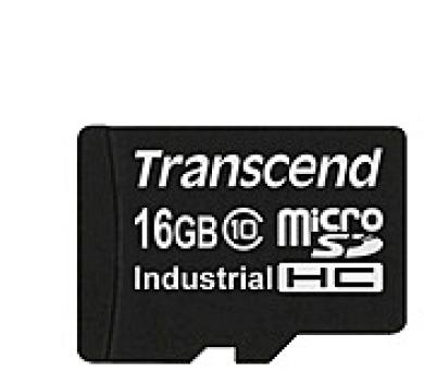 TRANSCEND Industrial Micro SDHC 10I Card 16GB (bez adaptéru) (TS16GUSDC10I)