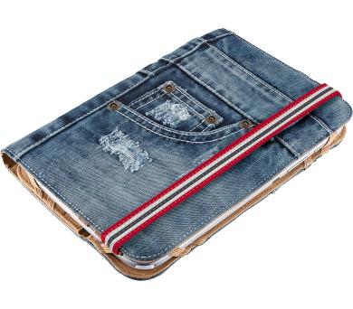 "TRUST Jeans Folio Stand 7-8"" tablets (19481) + DOPRAVA ZDARMA"