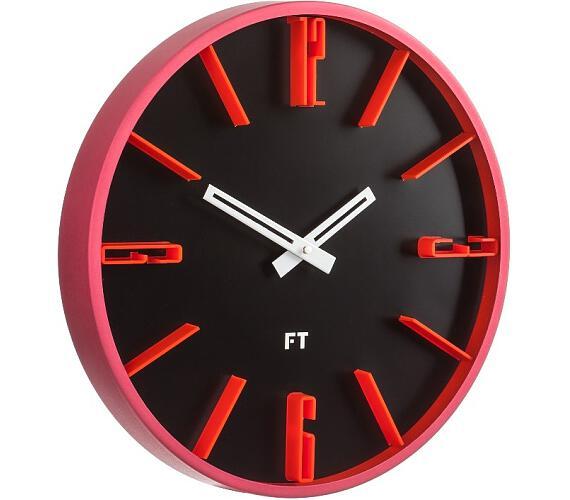 Designové nástěnné hodiny Future Time FT6010BK Numbers 30cm + DOPRAVA ZDARMA