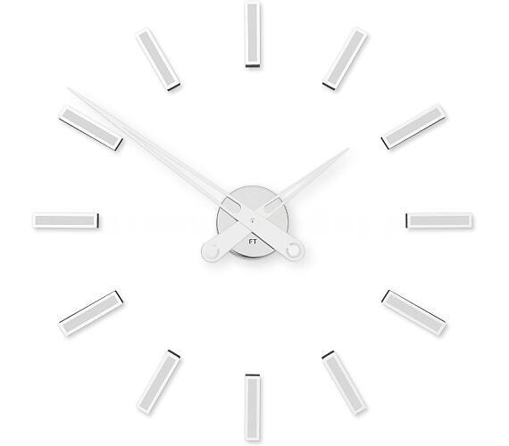 Designové nalepovací hodiny Future Time FT9600WH Modular white 60cm + DOPRAVA ZDARMA