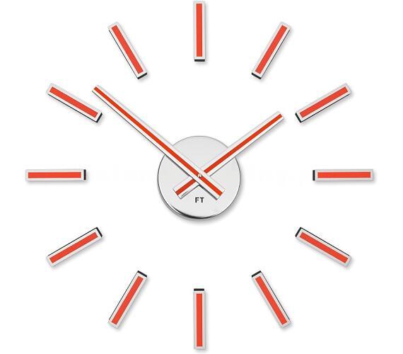 Designové nalepovací hodiny Future Time FT9400RD Modular red 40cm + DOPRAVA ZDARMA