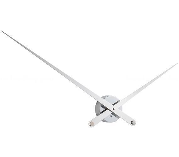 Designové nástěnné hodiny Future Time FT9110WH Hands white 100cm + DOPRAVA ZDARMA