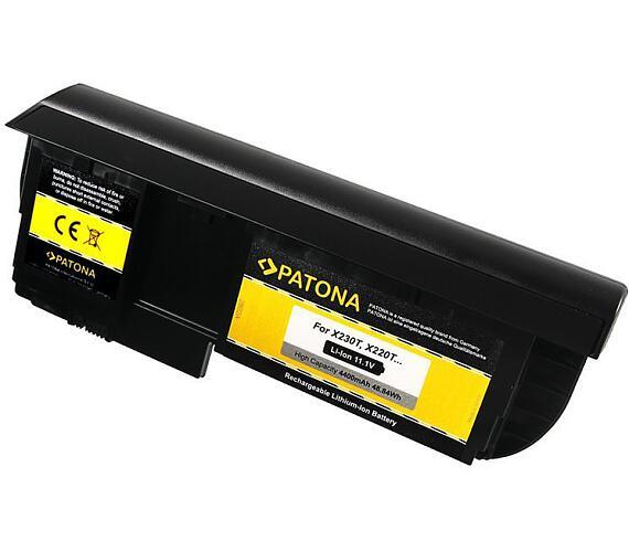 PATONA baterie pro ntb LENOVO ThinkPad notebook tablet X220T 4400mAh Li-lon 11,1V (PT2802)