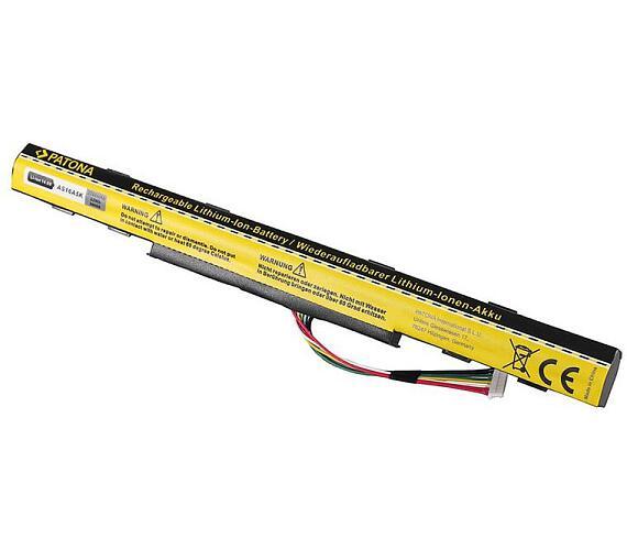 PATONA baterie pro ntb ACER Aspire E15 2200mAh Li-lon 14,6V AS16A5K (PT2805) + DOPRAVA ZDARMA