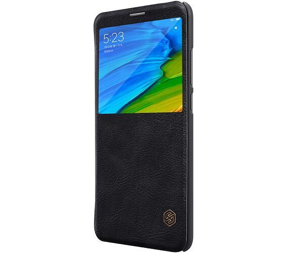 Nillkin Qin S-View Pouzdro Black pro Xiaomi Redmi Note 5 (8596311021916)