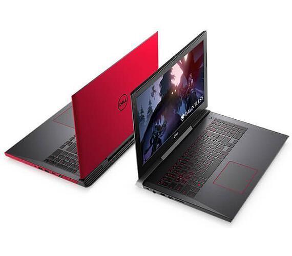 """DELL Inspiron G5 15(5587)/i7-8750H/8GB/128GB SSD+1TB HDD/15,6""""/FHD/4GB Nvidia 1050Ti/Win10 64bit/červený (N-5587-N2-711R)"""