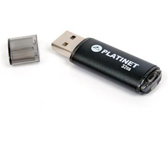 PLATINET flashdisk USB 2.0 X-Depo 32GB černý (PMFE32)