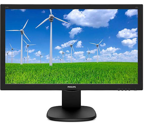 Philips 243S5LJMB - FHD,DVI,HDMI,DP,piv (243S5LJMB/00) + DOPRAVA ZDARMA