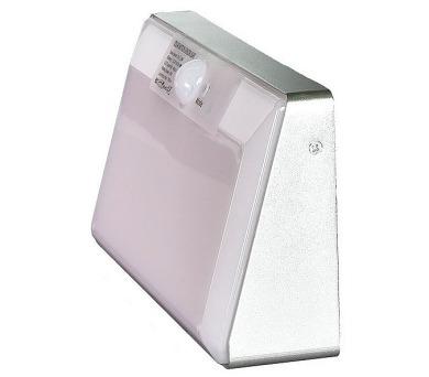 IMMAX venkovní solární LED osvětlení s čidlem/ 2,2W/ 6000K/ 760lm/ IP65/ stříbrné (08435L)