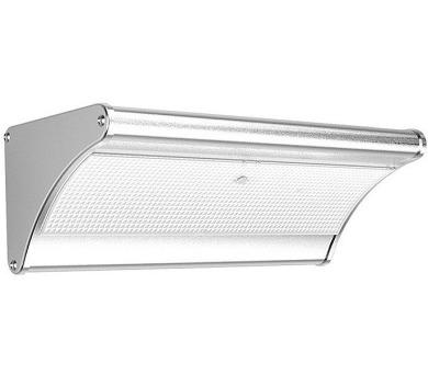 IMMAX venkovní solární LED osvětlení s čidlem/ 3,2W/ 4000K/ 900lm/ IP65/ stříbrné (08437L)