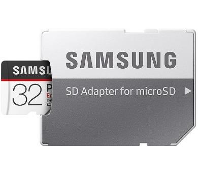Samsung Micro SDHC karta 32GB PRO Endurance + SD adaptér (MB-MJ32GA/EU)