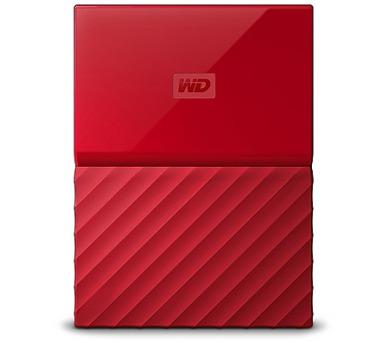"""Ext. HDD 2,5"""" WD My Passport 2TB USB 3.0 červený (WDBS4B0020BRD-WESN)"""