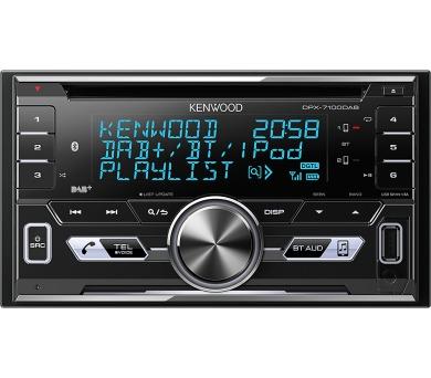 Kenwood DPX-7100DAB + DOPRAVA ZDARMA
