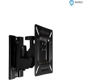 """4W Držák LCD 15-32"""" jednoramenný otočný sklopný BL (07447-BLK)"""