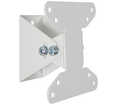 """4W Sklopný držák pro LCD 10-32"""" nákl. 15° 20kg WHT (07440-WHT)"""