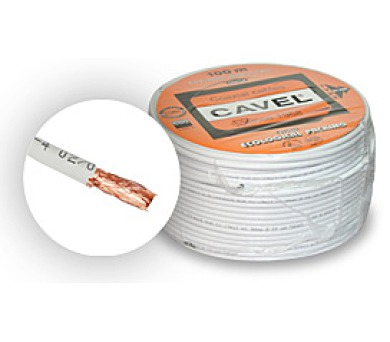 Cavel KF114 - celoměděny koaxiální kabel (KAB KO CAV KF114 100)