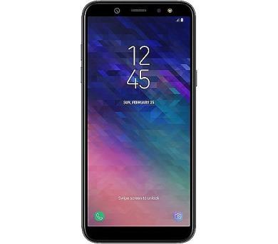 Samsung SM-A600F Galaxy A6 DUOS gsm tel. Black + DOPRAVA ZDARMA