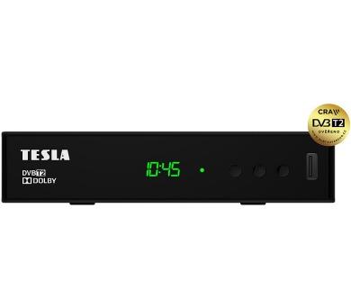 TESLA Vista T2 - DVB-T2 H.265/HEVC přijímač/rekordér
