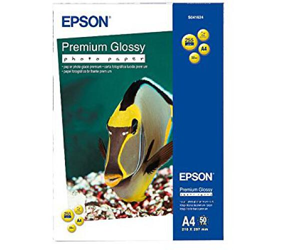 EPSON Premium Glossy Photo Paper - A4 - 50 Sheets (C13S041624)
