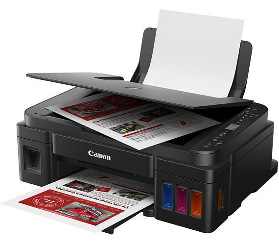 CANON PIXMA G3411 / A4 / print+scan+copy/ 4800x1200/ 8ppm / WiFi/ USB/ černá (2315C025)