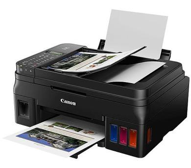 CANON PIXMA G4411 / A4 / print+scan+copy+fax/ 4800x1200/ 8ppm / WiFi/ USB/ ADF/ černá (2316C025)