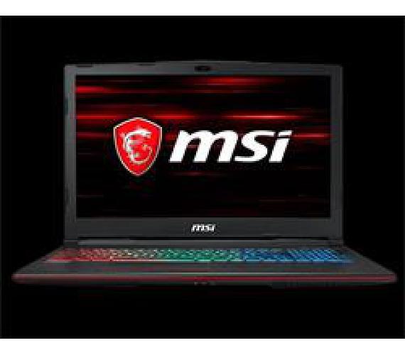 MSI GP63 8RE-430CZ Leopard 15,6 FHD/i5-8300H/GTX1060 6GB/16GB/1TB/killer LAN/W10