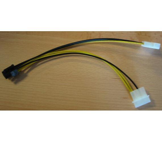 Redukce 6 PIN konektoru pro PCI-E karty ze zdroje (CC-PSU-6)