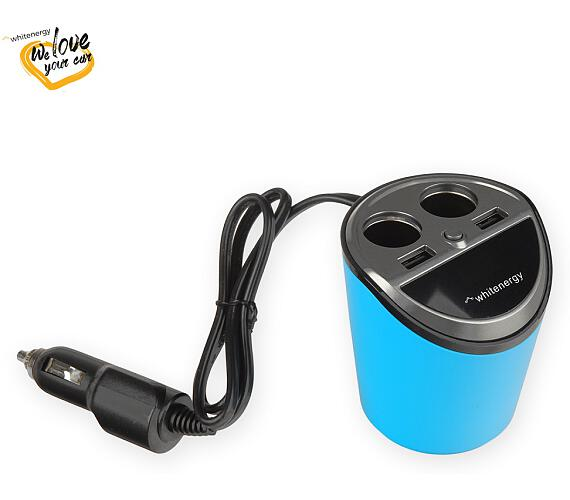 WE auto adaptér CUP 2x USB