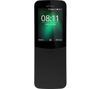 Nokia 8110 4G Dual SIM Black (16ARGB01A15)