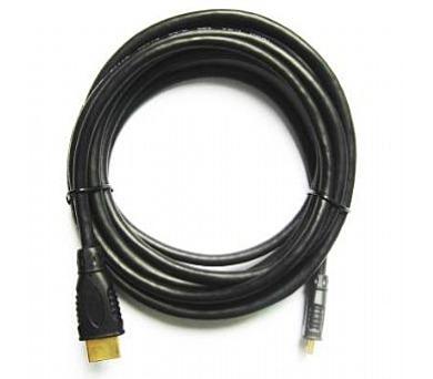 Kabel HDMI-HDMI mini 5m zlac.kon. stin 1.4,černý (CC-HDMI4C-15)
