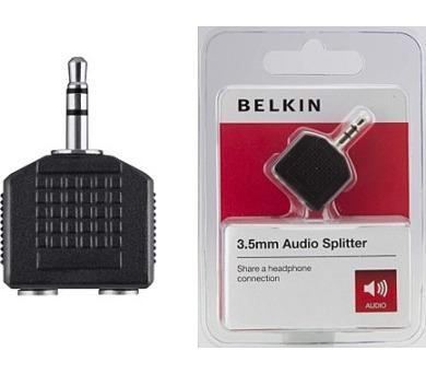 BELKIN Audio rozbočovač 3,5mm-M / 2x3,5mm-F (F3Y123bfP)