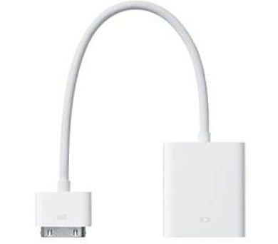 Dock Connector to VGA Adapter (MC552ZM/B)