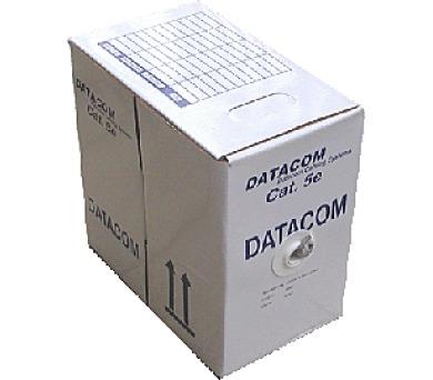 DATACOM UTP Cat5e PVC kabel 305m (licna) modrý + DOPRAVA ZDARMA