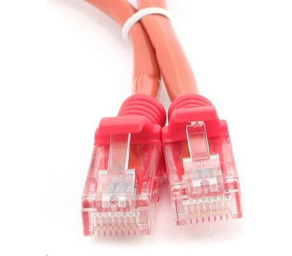 GEMBIRD Eth Patch kabel cat5e UTP 1m - červený (PP12-1M/R)