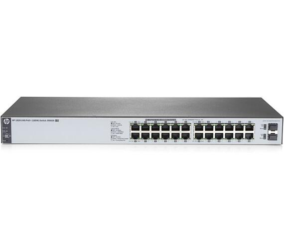 HPE 1820 24G PoE+ (185W) Switch (J9983A#ABB) + DOPRAVA ZDARMA
