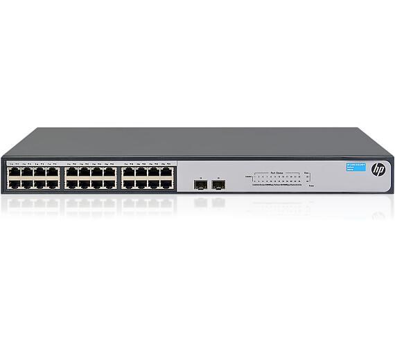 HPE 1420 24G 2SFP Switch (JH017A#ABB) + DOPRAVA ZDARMA