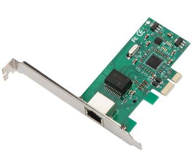 i-tec PCIe Gigabit Ethernet Card 1000/100/10 Mbps (PCEGLAN)