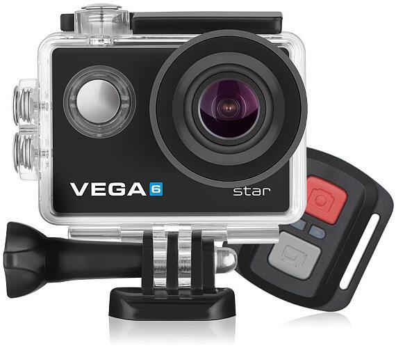 Kamera Niceboy® VEGA 6 star + dálkové ovládání + FUNKCE WEBKAMERY + DOPRAVA ZDARMA