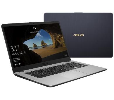 """ASUS X505BA-EJ203T A6-9220/8GB/128GB SSD+1TB/AMD Radeon R4/15,6"""" FHD matný/W10 Home/Grey + DOPRAVA ZDARMA"""
