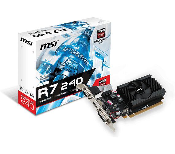 MSI R7 240 2GD3 64b LP