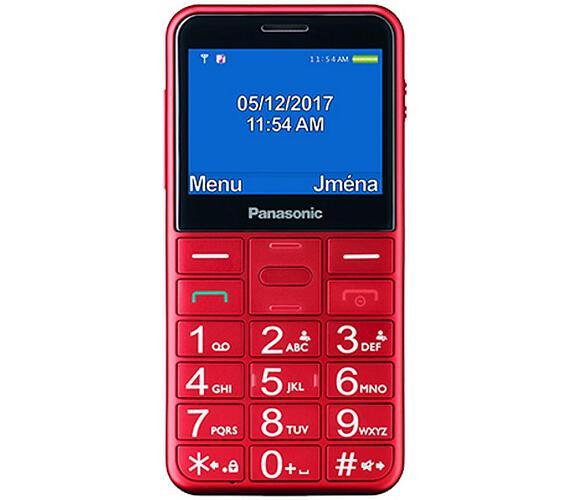 Panasonic KX-TU150EXR Snadno použitelný mobilní telefon + DOPRAVA ZDARMA