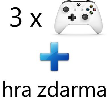 AKCE: 3 x XBOX ONE - Bezdrátový ovladač Xbox One