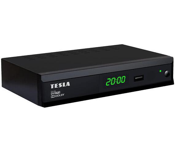 TESLA Duplex T2 - Dual DVB-T2 H.265/HEVC přijímač/rekordér + DOPRAVA ZDARMA