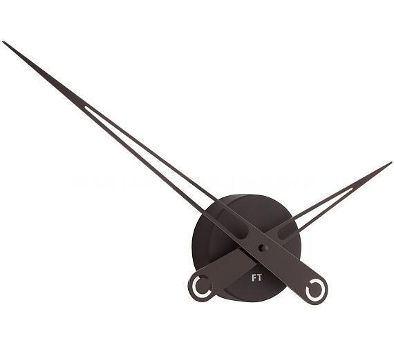 Designové nástěnné hodiny Future Time FT9650BK Hands black 60cm + DOPRAVA ZDARMA