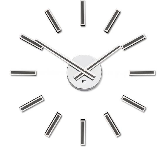 Designové nalepovací hodiny Future Time FT9400TT Modular titanium grey 40cm + DOPRAVA ZDARMA