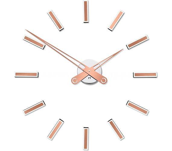 Designové nalepovací hodiny Future Time FT9600CO Modular copper 60cm + DOPRAVA ZDARMA