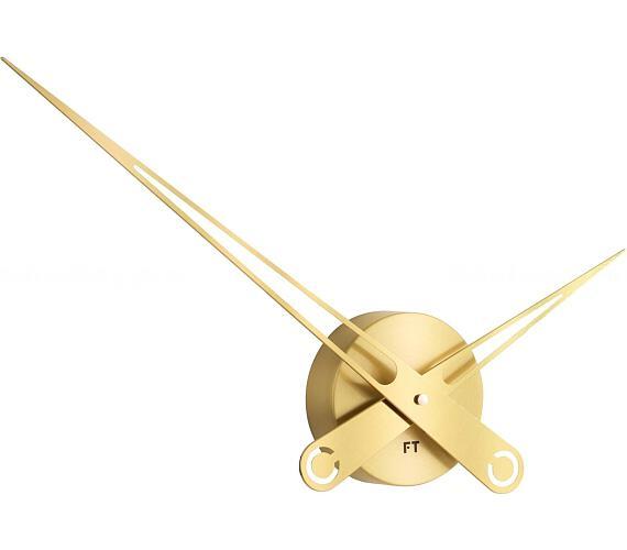 Designové nástěnné hodiny Future Time FT9650GD Hands gold 60cm + DOPRAVA ZDARMA