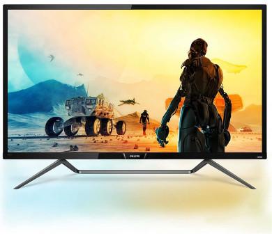 """Philips LCD 436M6VBPAB 43"""" MVA 4K/3840x2160/4000:1/4ms/HDMI/DP/miniDP/4xUSB/USB-C/repro/VESA (436M6VBPAB/00)"""