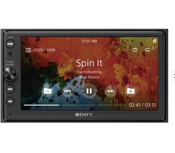 """Sony přehrávač do auta XAV-AX100C2 s 6,4"""" + DOPRAVA ZDARMA"""